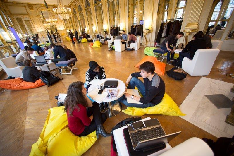 Atelier d innovations culturelles par quipe dans les for Espace de travail collaboratif