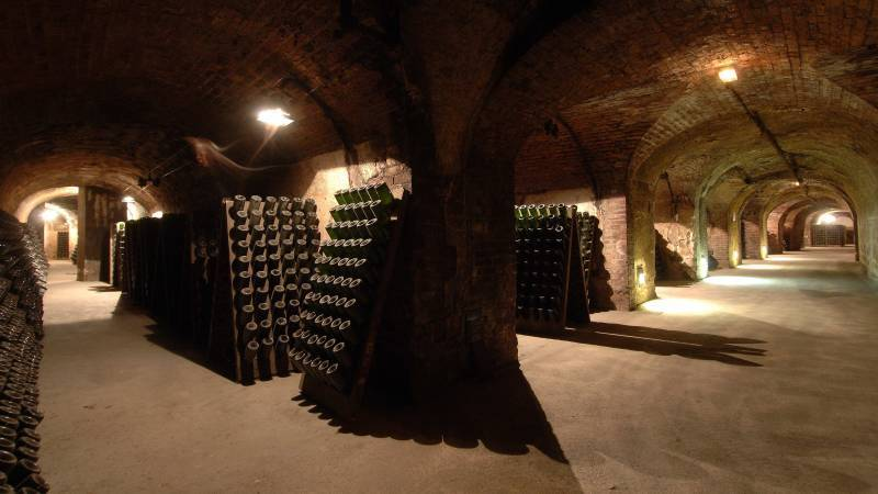 Caves, avenue de Champagne, Epernay