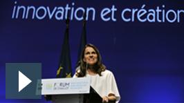 Aurélie Filippetti au Forum de Chaillot