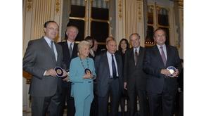 Cérémonie en l'honneur de sept Grands Mécènes et Grands Donateurs de la Culture