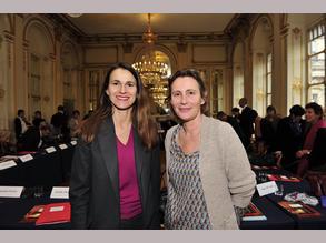 Aurélie Filippetti et Marie Desplechin