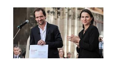 Aurélie Filippetti et Stéphane de Groodt