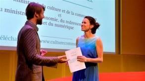 Remise du rapport Hearn à la Gaîté Lyrique (développement de l'entrepreneuriat culturel)