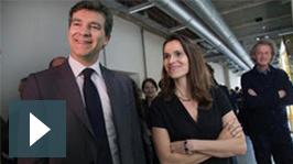 Rendez-vous du design #3 - Arnaud Montebourg et Aurélie Filippetti