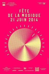 Affiche Fête de la musique 2014