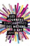 Affiche Journées européennes des métiers d'art 2014
