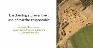 rencontres d'archéologie préventive 2012
