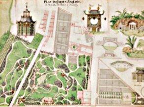 Jardin anglais du duc de Praslin (vers 1790)
