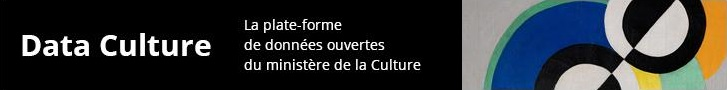 Accéder au site dataculture, la plateforme de données ouvertes du ministère de la Culture