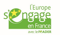 Logo L'Europe s'engage en France avec le Feader