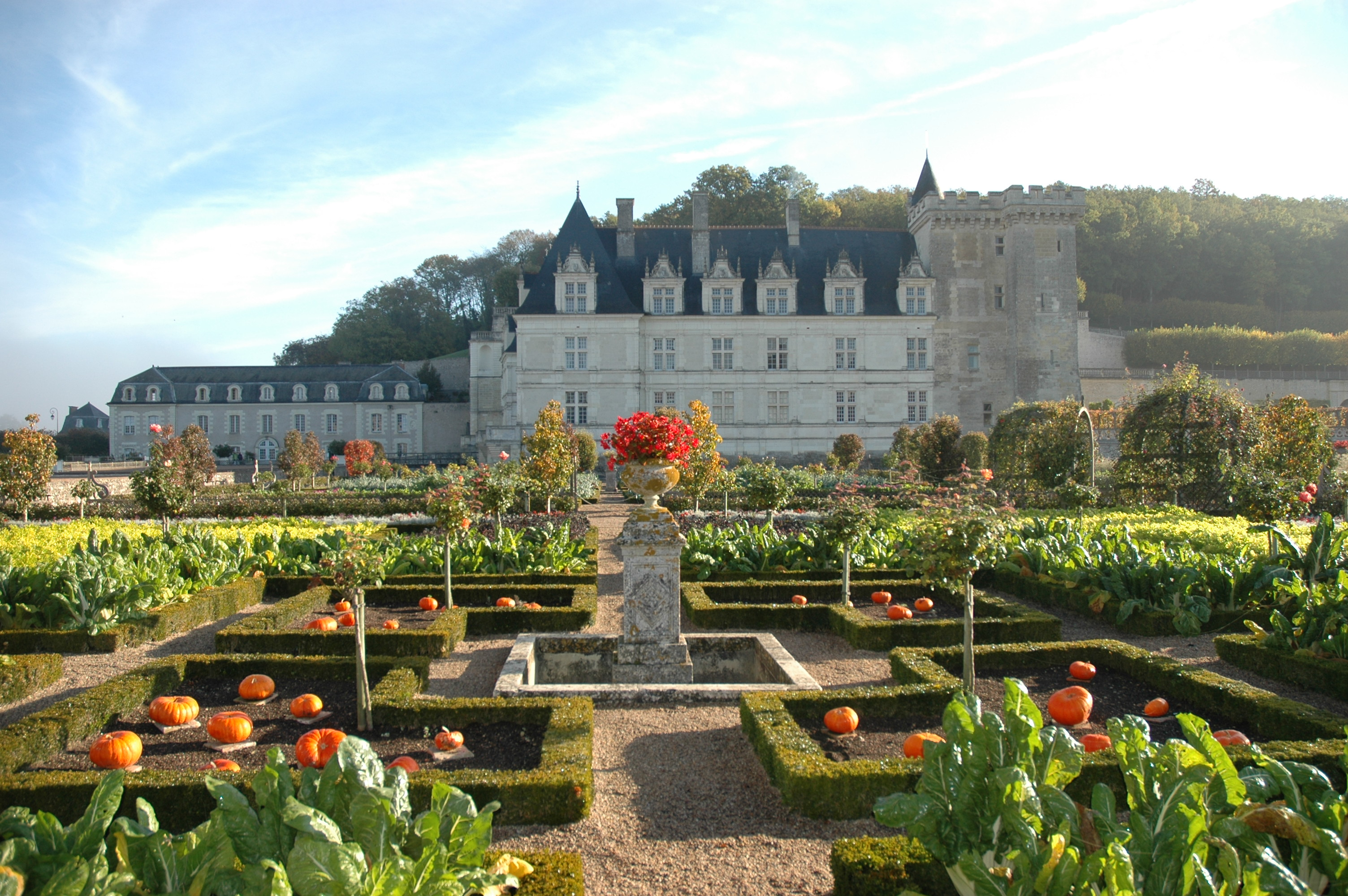 30 jardins remarquables en r gion centre minist re de la for Jardin du val de saone