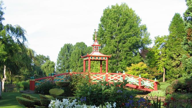 30 jardins remarquables en r gion centre minist re de la for Apremont sur allier jardin