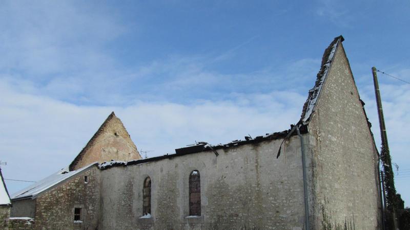Vue extérieure après l'incendie (2)