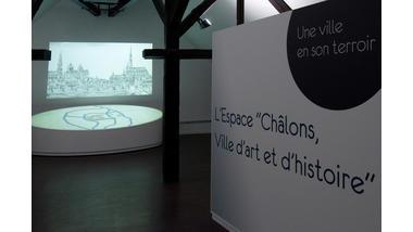 Châlons-en-Champagne - Centre d'interprétation de l'architecture et du patrimoine - salle d'exposition