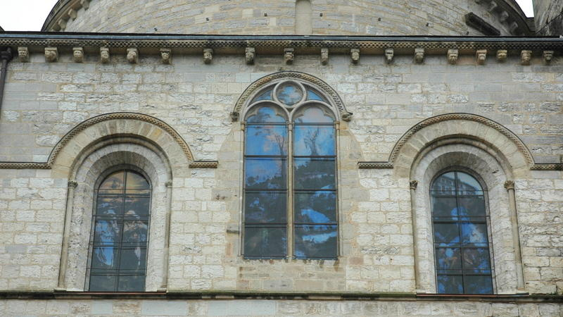 Baies saint Luc vues de l'extérieur