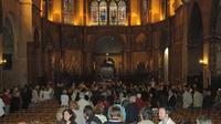 Inauguration des nouveaux vitraux de la cathédrale de Cahors