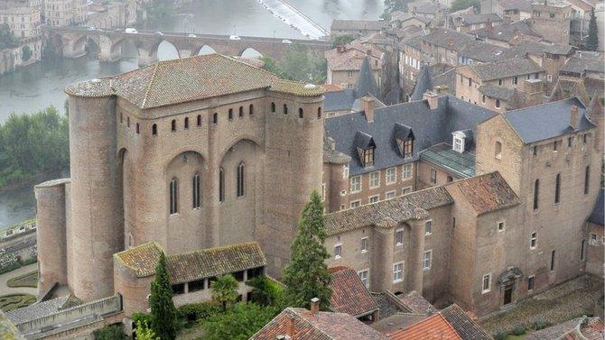 Panoramique d'Albi depuis la cathédrale Sainte-Cécile
