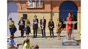 """Inauguration de """"Los pès del parpalhòl"""""""