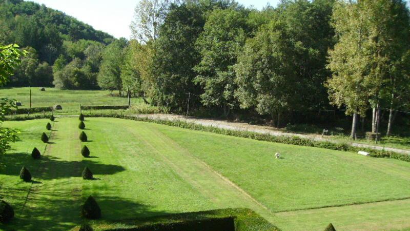 Jardins de l'abbaye de Combelongue, Rimont (Ariège)