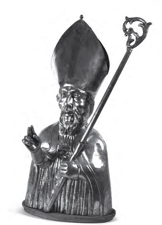 Gapençais, buste de Saint-Grégoire