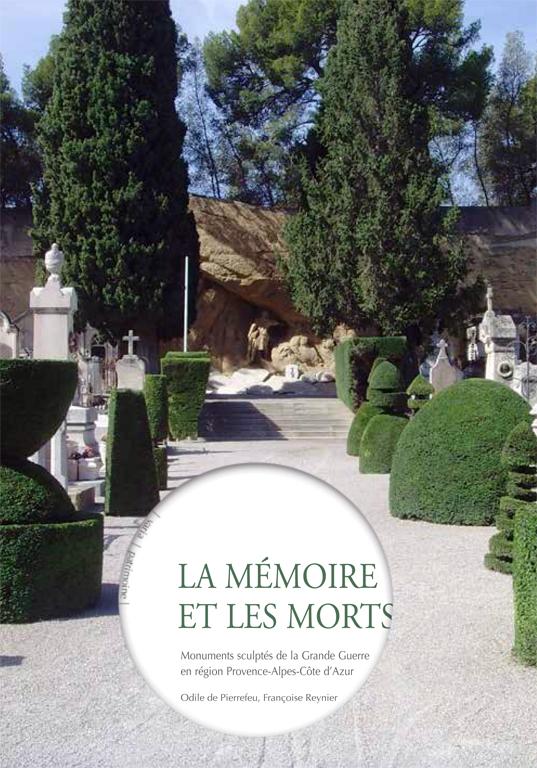Cimetière de Salon-de-Provence, vue générale du monument aux morts