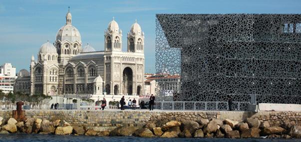 Marseille - La Major et le Mucem