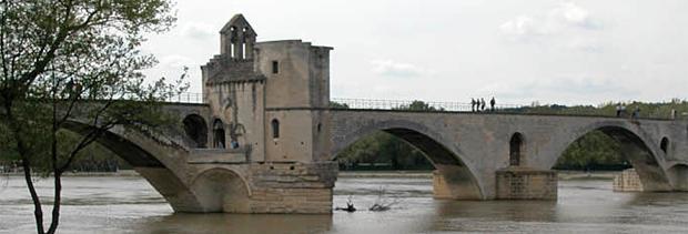 Avignon - Pont Saint-Bénézet, chapelle Saint-Nicolas