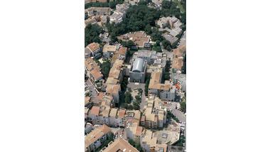 Centre de vie - Valbonne Sophia-Antipolis, vue aérienne