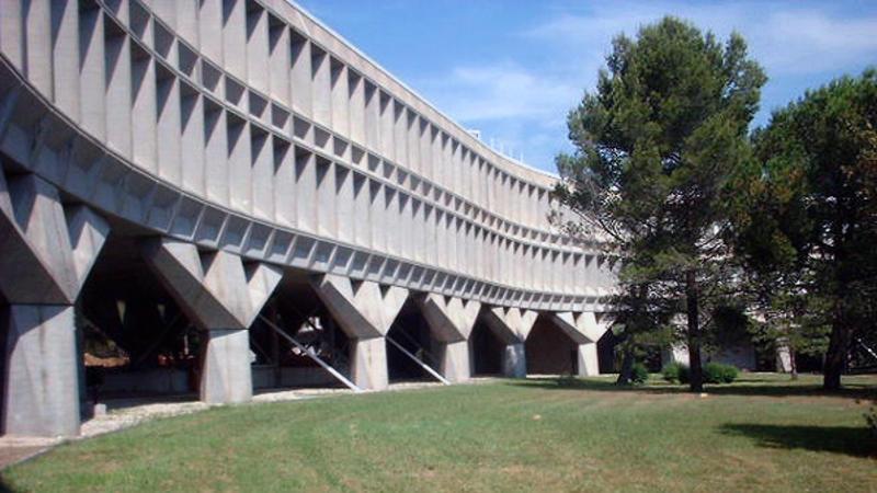 CER IBM - La Gaude, façade est