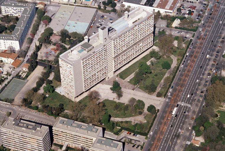Unit d 39 habitation le corbusier dite cit radieuse en images minist re de la culture - La cite radieuse marseille ...