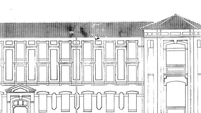 Plan du bâtiment principal