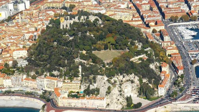 Nice - Parc de la colline  du château