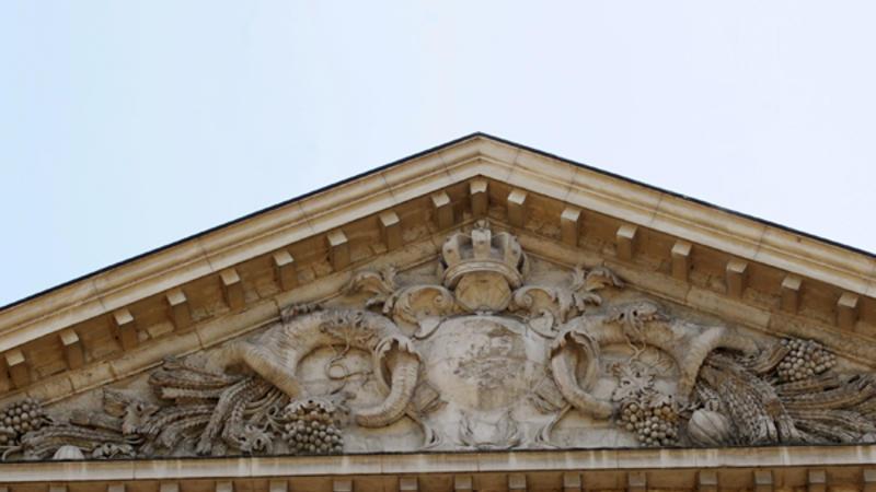 DRAC Rhône-Alpes détail façade rive de Saône © Jean-Marie Refflé
