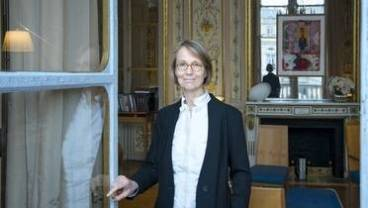 Portrait de Françoise Nyssen, ministre de la Culture
