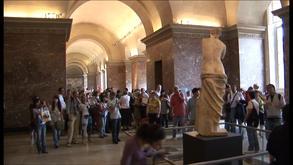 Visite au musée du Louvre
