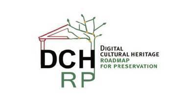 logo du projet européen Digital Cultural Heritage - Preservation Roadmap