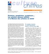 Painters, graphic designers, sculptors, et. Artist-author members of the Maison des artistes en 2005