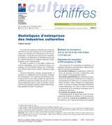 Statistiques des entreprises des industries culturelles