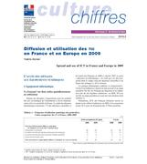 Spread and use of ICT in France and Europe in 2009