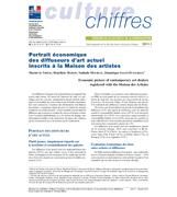 Economic picture of contemporary art dealers registered with the Maison des Artistes