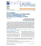 Households and Information and Communication Technologies in France and in Europe in 2012