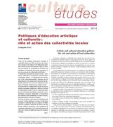 Artistic and cultural education policies: the role and action of local authorities