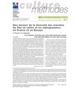 An Evaluation of the Diversity of the Film Market for Cinema and Video Recordings in Franceand in Europe