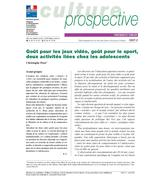 Video games and sport : two related activities among adolescents