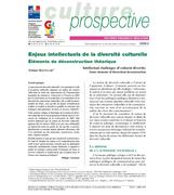 Intellectual challenges of cultural diversity. Some elements of theoretical deconstruction