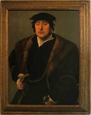 """Visuel du tableau """"Portrait d'homme"""", attribué à l'école de Joos van Cleve"""