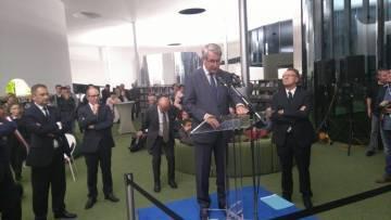 Thionville - Puzzle - discours d'inauguration par Philippe Richert