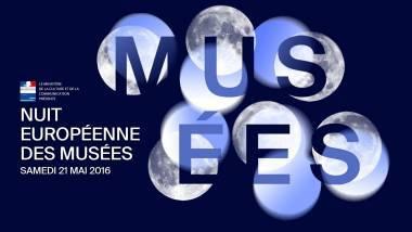 Nuit européenne des Musées 2016 - visuel