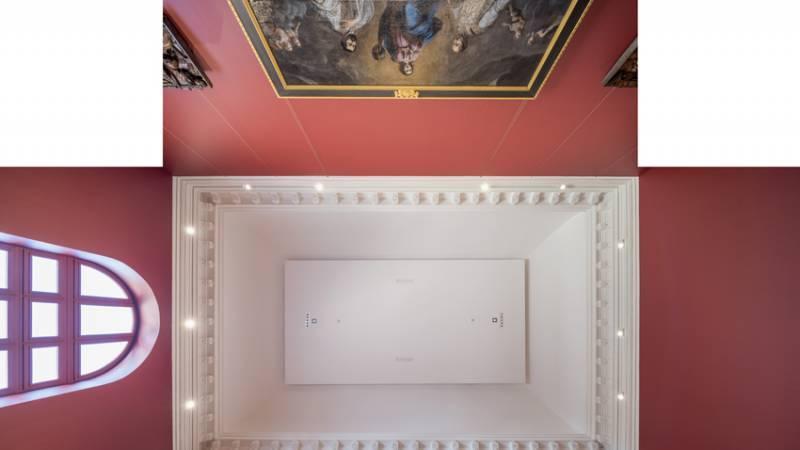 Le musée Crozatier au Puy-en-Velay pendant les travaux