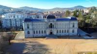Le musée Crozatier au Puy-en-Velay - vue aérienne
